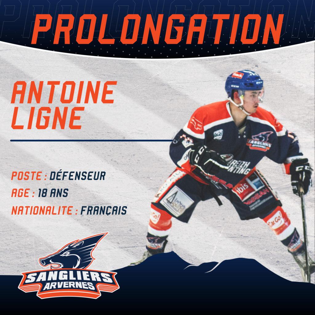 ✅ [INTERSAISON] Prolongation d'Antoine LIGNE