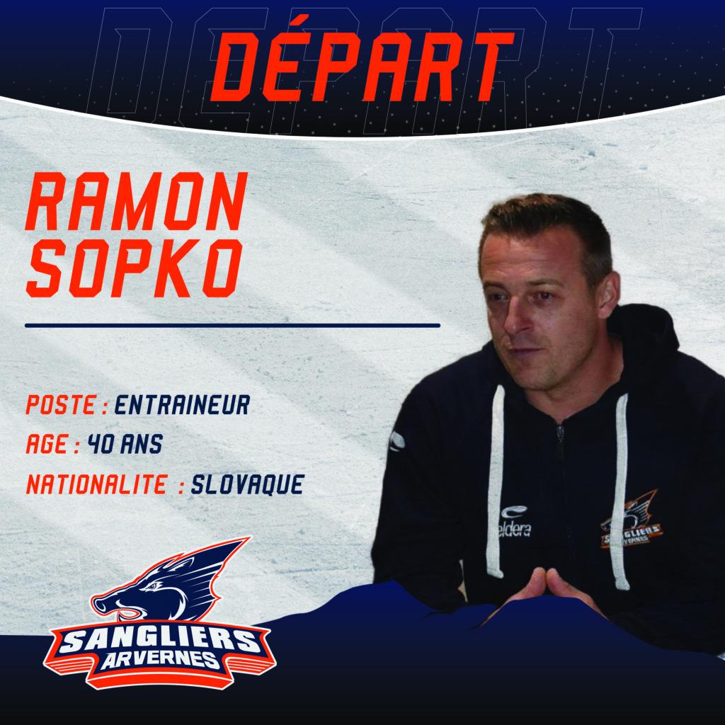 ❌[INTERSAISON] Départ de l'entraineur Ramon SOPKO