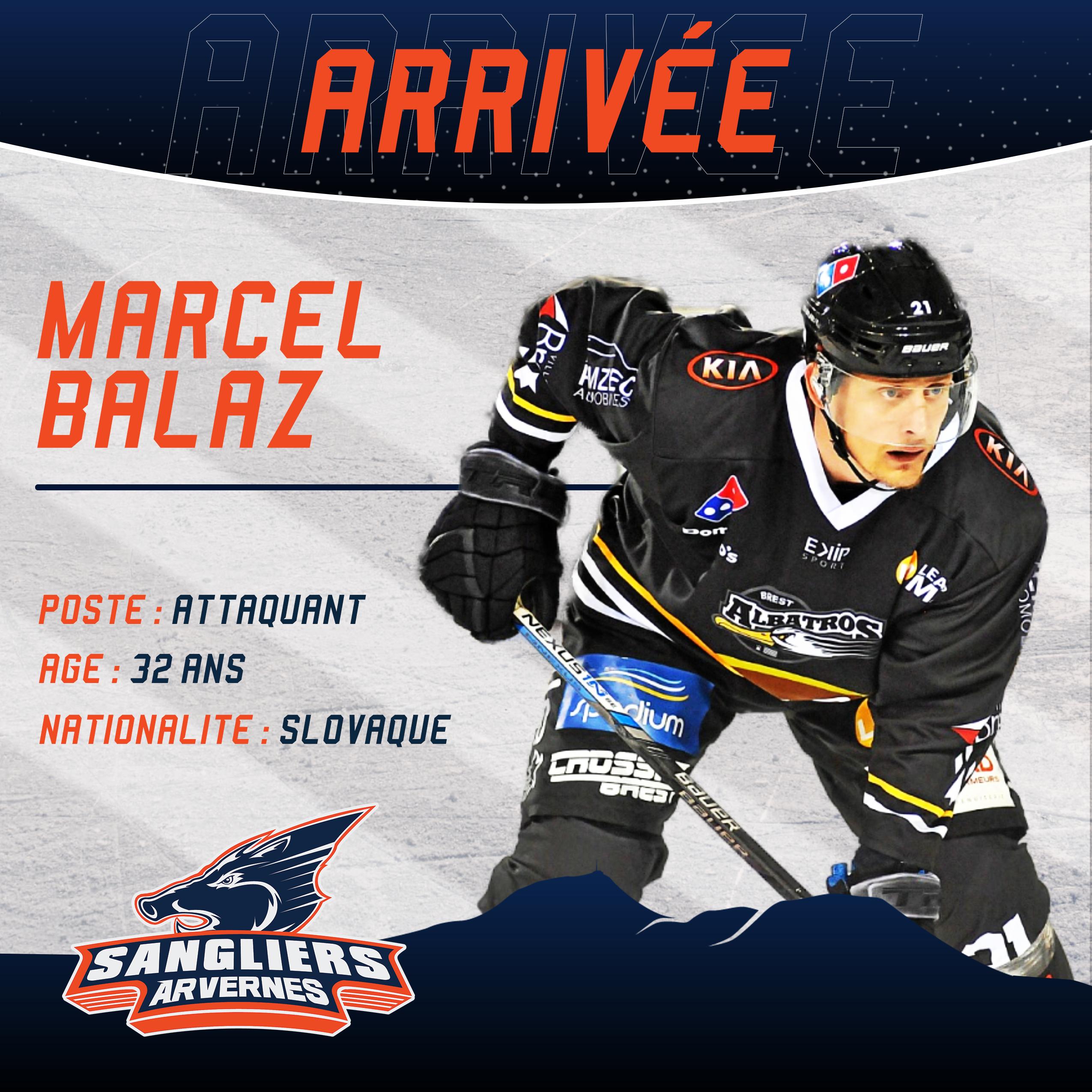 ✅ [INTERSAISON] Arrivée de Marcel BALAZ