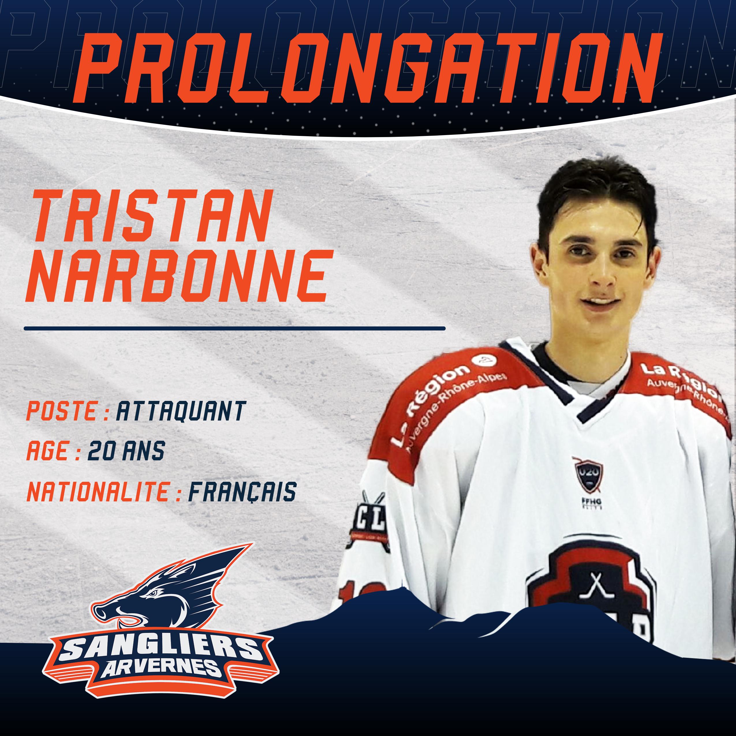 ✅ [INTERSAISON] Prolongation de Tristan NARBONNE