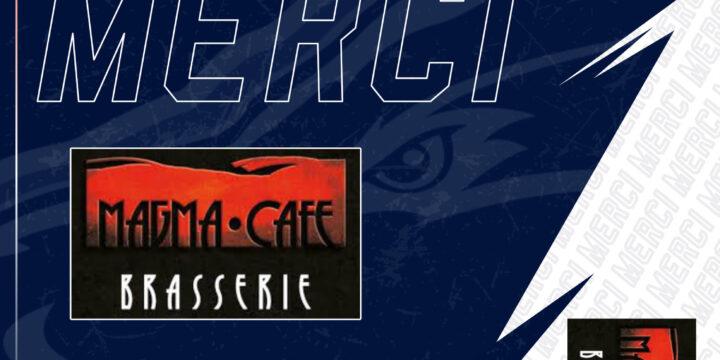 Reconduction du partenariat avec Magma Café
